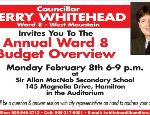 Annual Ward 8 Budget Overview